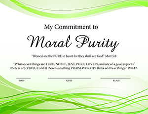 moral purity commitment